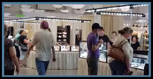 trade show services trade show vendor booth lighting jewelry display lighting mineral specimen