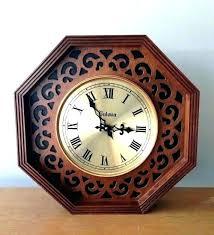 cirrus wall clock pendulum repair bulova clocks rep