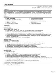 Trainer Resume Sample Personal Trainer Resume Sample Best Of Templates Print Paper 8