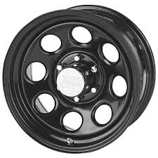 Pro p wheels 97 7973f rock crawler series 97 black monster mod wheel