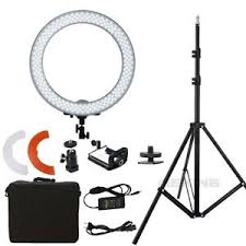 makeup light stand. image is loading dimmable-diva-video-14-034-36cm-18-034- makeup light stand