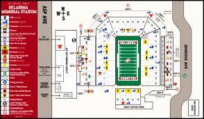 Oklahoma Memorial Stadium Map 180 W Brooks St Norman Ok