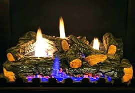 vent free gas logs fireplace set two sided best propane with remote ventless savannah oak 18