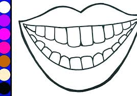 teeth coloring happy sad tooth colouring pages for preschool coloring of teeth kids printable dentist coloring