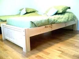unfinished bed frame. Wonderful Bed Unfinished Platform Bed Wooden Beds  Wood Frame With Unfinished Bed Frame
