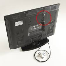 flat screen tv security anti theft kit