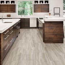Travertine Kitchen Floor Tiles Trafficmaster Allure 12 In X 24 In Grey Travertine Luxury Vinyl