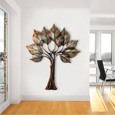 abstract metal wall art. Antique Leaves Metal Wall Art Abstract A