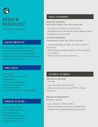 Graphic Designer Career Objective Graphic Designer Resume Example