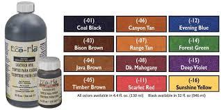 Eco Flo Dye Color Chart Eco Flo Leather Dye Leather Dye Leather Leather Tooling