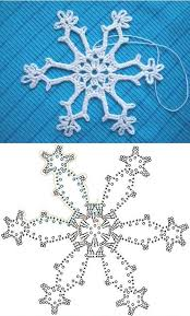 Crochet Snowflake Pattern Awesome Wonderful DIY Crochet Snowflakes With Pattern Christmas