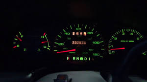 2001 Ford Taurus Warning Lights 2001 Ford Taurus Ses Instrumental Lights All Working Youtube
