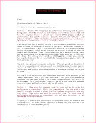 Written Warning Template For Attitude Company Writing A