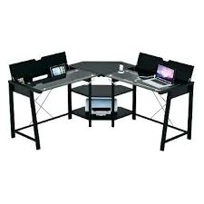 office furniture glass. R C Willey Office Furniture Glass Top L Shaped Computer Desk Chairs Rc