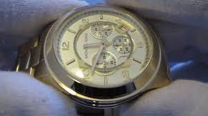 Обзор мужских наручных <b>часов Michael Kors MK8077</b> - YouTube