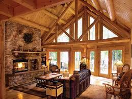 Log Cabin Interior Design Living Room Small Lrg Fbea