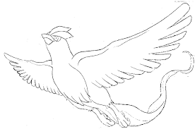 Small Picture Pokemon Coloring Pages Articuno Wonderful Skecth Of Bird Page