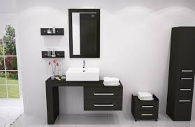 jwh living grand lune single vessel modern bathroom vanity set