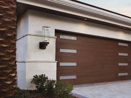 Modern garage doors Glass Canyon2jpg Neals Overhead Doors Clopay Door Faux Wood Modern Garage Doors Canyon Ridge