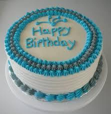 Simple Male Birthday Cake Cakecentralcom