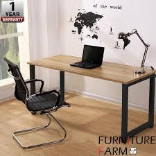 designer office table. F\u0026F: [100cm X 60cm] Simple Home \u0026 Living Designer Office Table With Black D