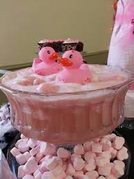 Pink Owl Bridal Shower  Sherbert Punch Shower Appetizers And Punch For Girl Baby Shower