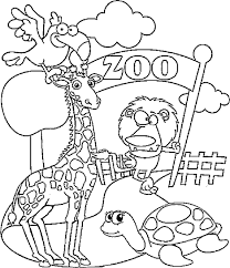 Small Picture Zoo coloring pages for kids printable ColoringStar