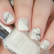Real Marble Nail Art Tutorial (With a Stamper) | The Nailasaurus