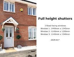 how much do wooden window shutters cost