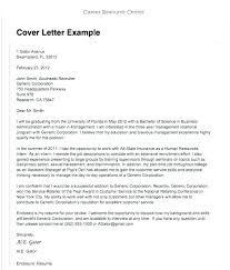 Example Of Cover Letters For Job Application Career Cover Letter
