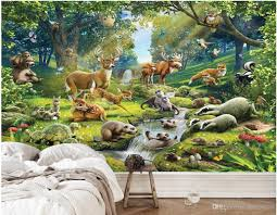 3d wallpaper custom photo mural monkey elephant toucan rainforest home decor painting 3d wall murals wallpaper for walls 3 d kareena kapoor