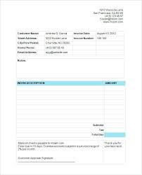 Cleaning Invoices Simple Estimates And Invoices Free For Invoice Template Beautiful Carpet