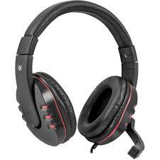 Pistikuga mängukõrvaklappid mikrofoniga <b>Warhead G</b>-<b>160 black</b> ...