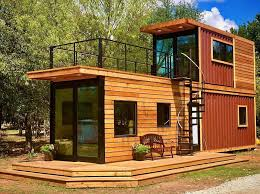 amos wheeler this shipping container house stacks two