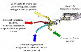 wire regulator rectifier wiring diagram motorcycle schematic 4 wire regulator rectifier wiring diagram