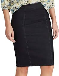 Chaps Womens Size Chart Womens Chaps Denim Pencil Skirt In 2019 Skirts Denim