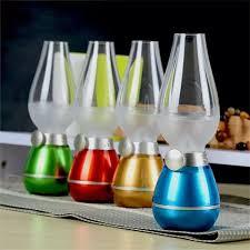 Đèn thờ cảm ứng thổi tắt đèn dầu điện tử cảm biến thổi tắt đèn dầu led sạc  tích điện