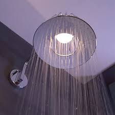 axor lampshower with led lamp