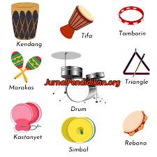 Bunyi yang dihasilkan alat musik melodis ini mengatur nada utama dalam sebuah lagu atau musik. Contoh Alat Musik Ritmis Melodis Dan Harmonis Beserta Gambarnya Jurnal Pendidikan