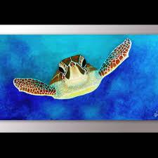 painting wall art sea turtles sea turtle painting print sea turtle artwork sea turtle