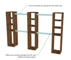 you can make the top shelves adjule with shelf pins but it is important that the middle shelf be fixed as something needs to keep the tower square in