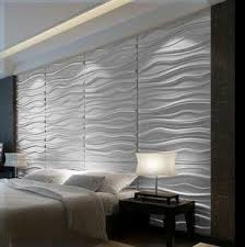 decorative wall tiles for bedroom. Modern WAVES 3D Wall Panel Textured Glue On Tiles Decorative For Bedroom L