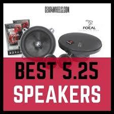 speakers 5 25. speakers 5 25