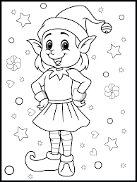 Santa's mail bag coloring page. Free Christmas Colouring Activity Pages For Kids The Mummy Bubble