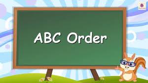 Alphabetical Order Learn Abc Order Or Alphabetical Order For Kids English Grammar