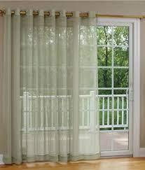 7 kitchen sliding door curtains ideas