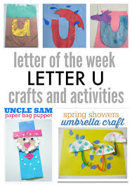 letter u letter of the week activities
