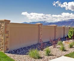 Stucco Retaining Wall Design Precast Stucco Walls Concrete Wall Alternative To