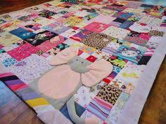 Baby clothing quilt - first year quilt made of all the cutest bits ... & Smart and Affordable DIY Fun Activities to Capture Childhood Memories of  Kids Adamdwight.com