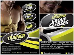 Personal Fitness Flyer Template - Flyerheroes
